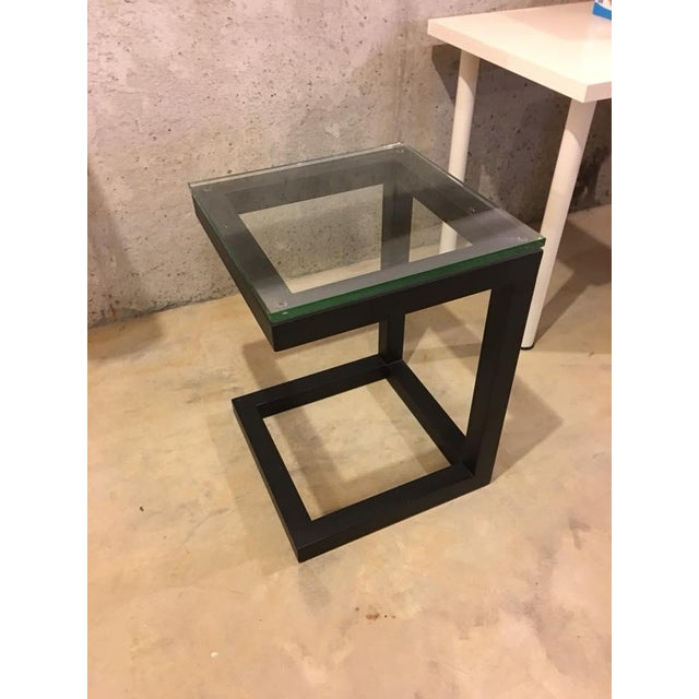 Crate & Barrel Parsons End Table - Image 3 of 3