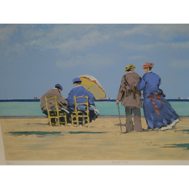"""Frederick McDuff Limited Edition """"Emerald Coast"""" Artists Proof Print For Sale - Image 4 of 8"""