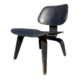 Mid-Century Evans Products Herman Miller Lcw Charles Eames Chair For Sale