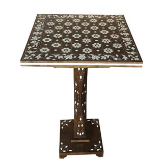 Mother of Pearl Inlay Chess Board Table Preview