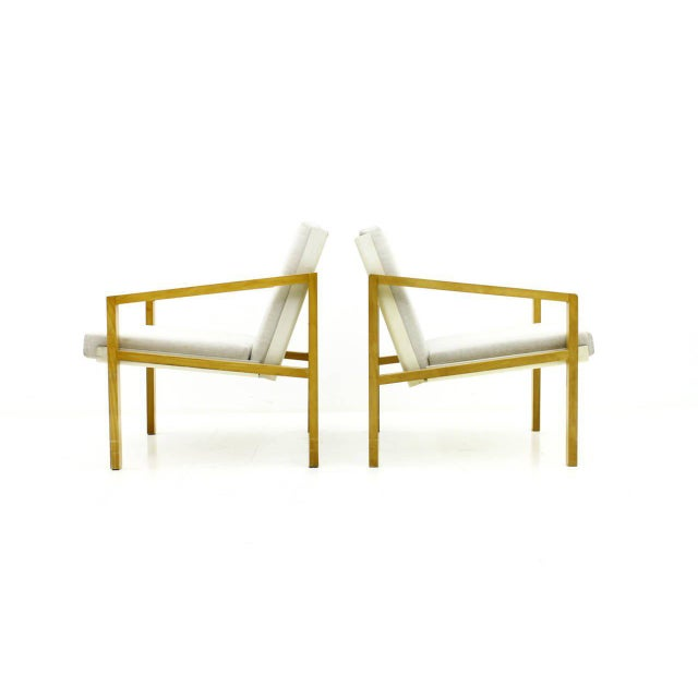 Wood Pair of Lounge Chairs by Hein Stolle, Spectrum, 1956 For Sale - Image 7 of 7