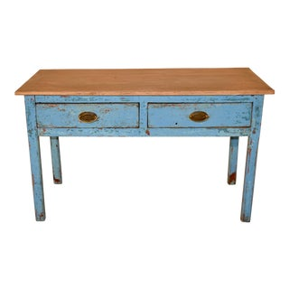 19th Century English Pine Sideboard For Sale