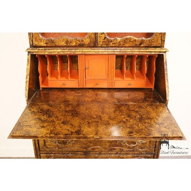 Late 20th Century Vintage Jasper Cabinet Secretary Desk For Sale In Kansas City - Image 6 of 13