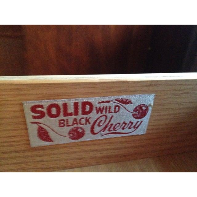 Henkel Harris Vintage Black Cherry Dining Set - Image 4 of 9