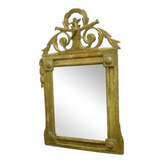 Antique French Gilded Mirror