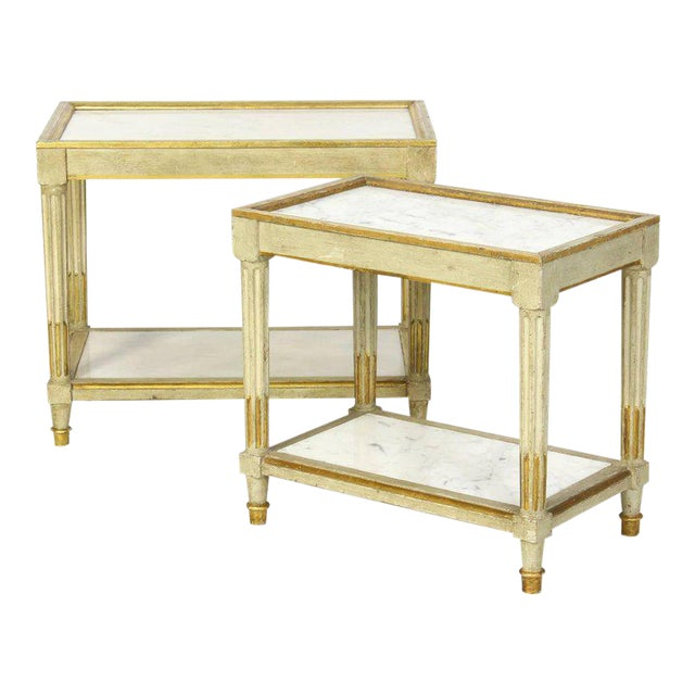 Italian Side Tables - a Pair - Image 1 of 10
