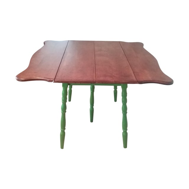 Country Style Drop Leaf Dining Table - Image 1 of 5