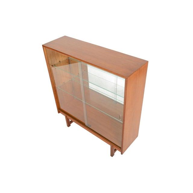 Turnidge of London Sliding Glass Doors Bookcase For Sale - Image 5 of 7