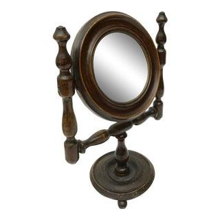 Antique French Shaving Mirror, C.1900