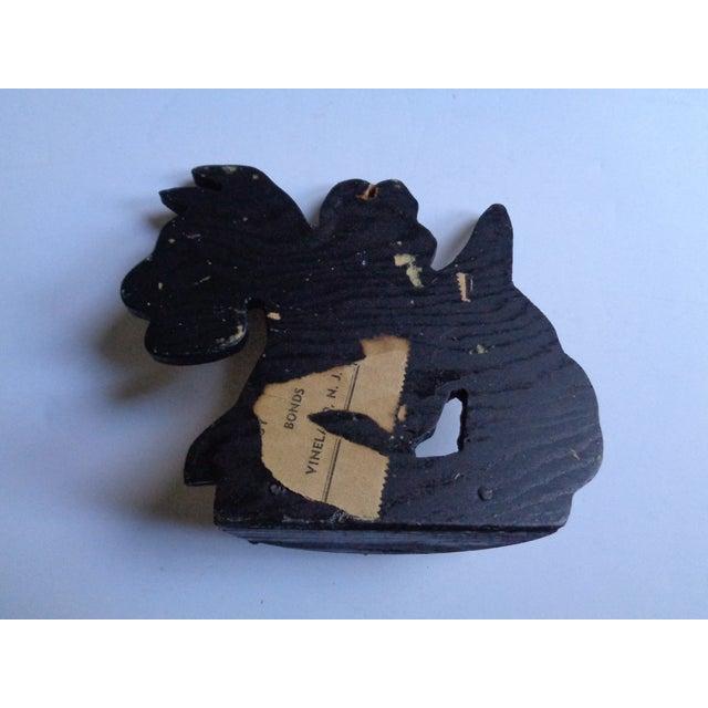 Vintage Scottish Terrier Dog Key Rack With Hooks For Sale - Image 4 of 5