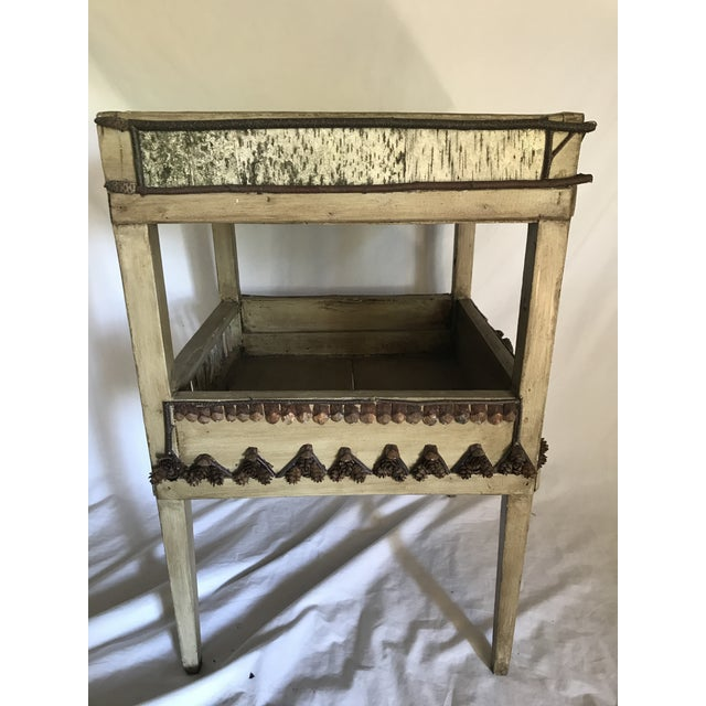 Early 20th Century Adirondack Plant Stand or Side Table For Sale - Image 5 of 13
