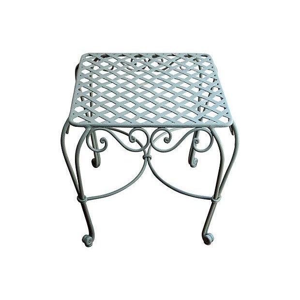Iron Garden Table - Image 3 of 3