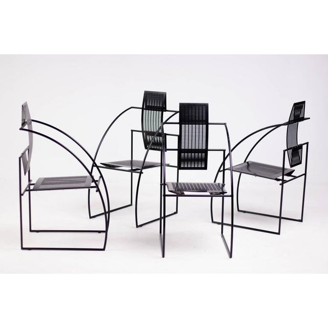 Set of Four Quinta Chairs, Mario Botta for Alias For Sale - Image 6 of 10