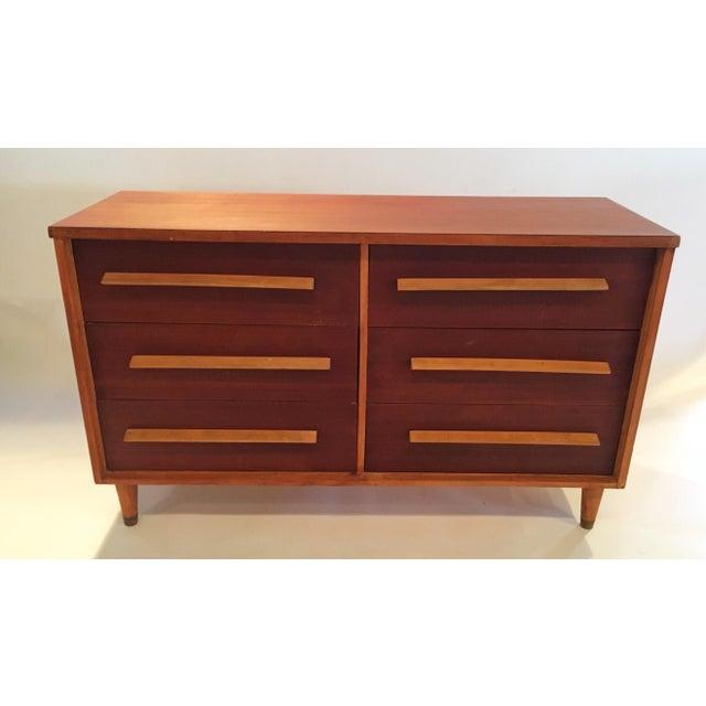 Mid-Century 6-Drawer Dresser - Image 2 of 5