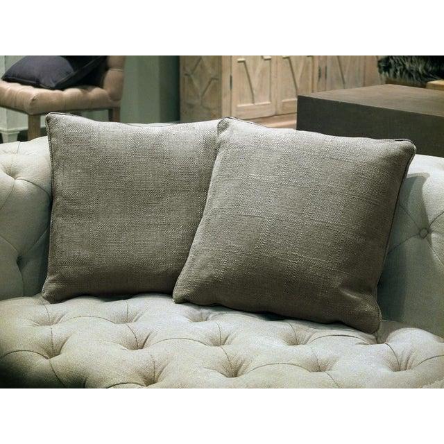 Sarreid Ltd. Granata Zinc Pillows - A Pair - Image 2 of 3