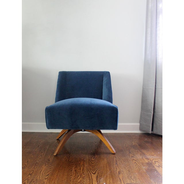 Vintage Mid Century Modern Accent Chair - Image 3 of 9