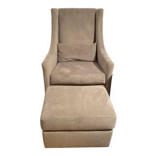 Recliner With Ottoman For Sale