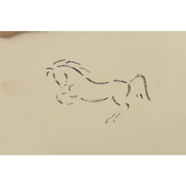 Vintage Wah Ming Chang Bronze Horse Ashtray - Image 5 of 7