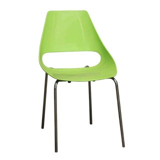 Metalmobil Echo Modern Lime Green Chair For Sale
