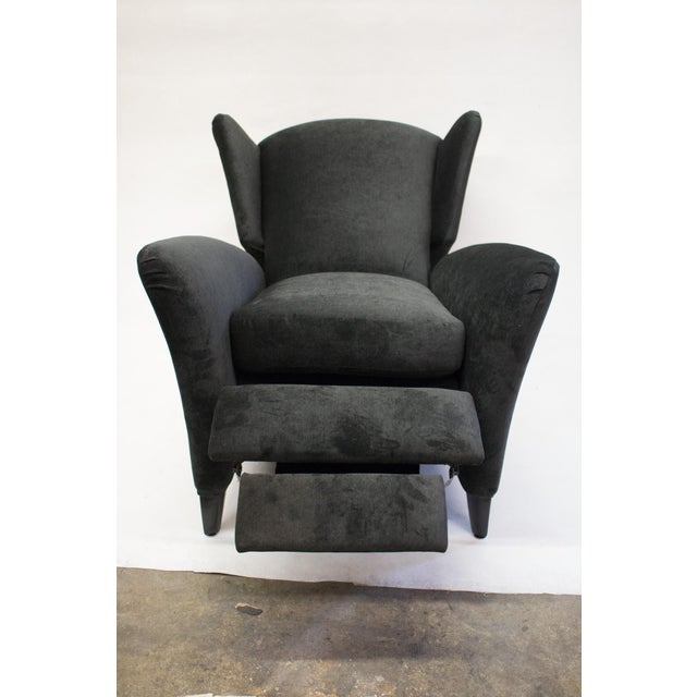 Mid-Century Reclining Wingback Chair - Image 7 of 8