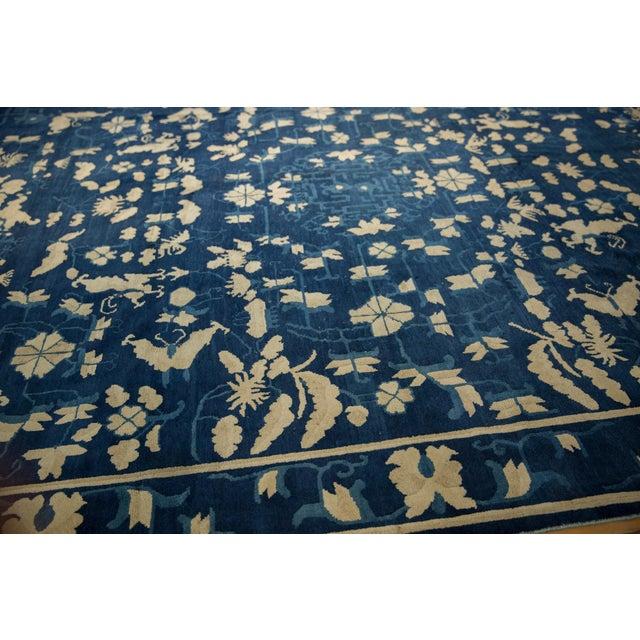 "Antique Peking Carpet - 8'9"" X 11'4"" For Sale - Image 12 of 13"