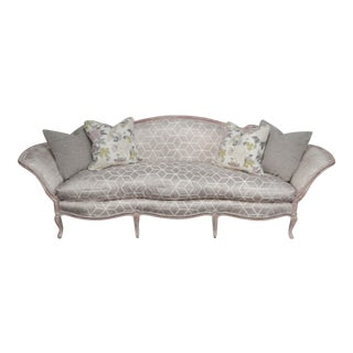 1930s Vintage Hollywood Glam Style Sofa For Sale