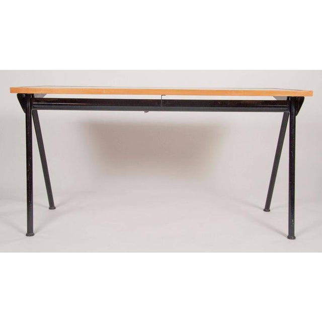 1950s Compass Desk by Jean Prouve For Sale - Image 5 of 10