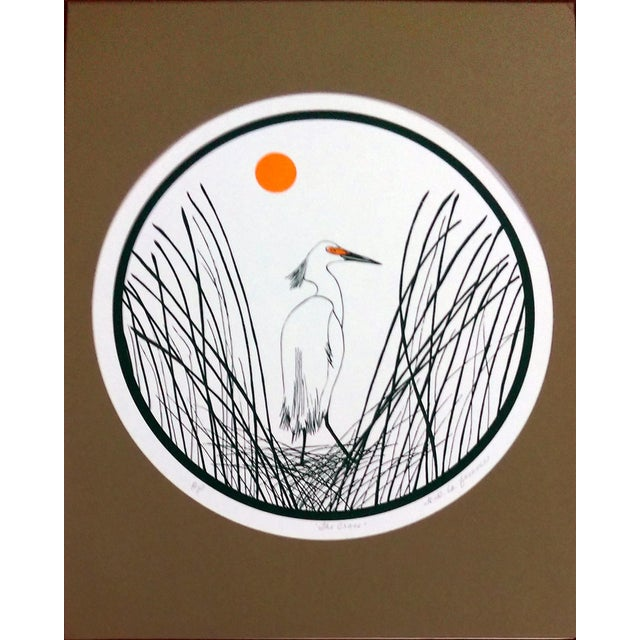 B.B. La Femme Waterbird Artist Proof Serigraphs- S/3 For Sale In Los Angeles - Image 6 of 7