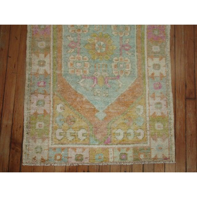 Vintage Turkish Anatolian Rug, 2'8'' X 4' For Sale In New York - Image 6 of 7