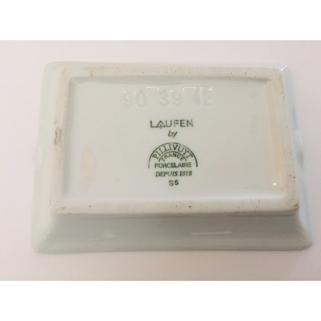 Ceramic Vintage Laufen Pillivuyt, France Collector Porcelain Ashtrays - Set of 6 For Sale - Image 7 of 12