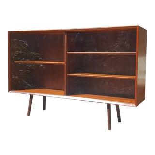 1960s Midtjydsk Møbelfabrik of Denmark Teak Bookcase For Sale