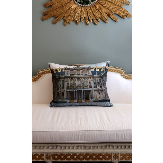 Versailles Rear Courtyard Photo Pillow For Sale - Image 10 of 12