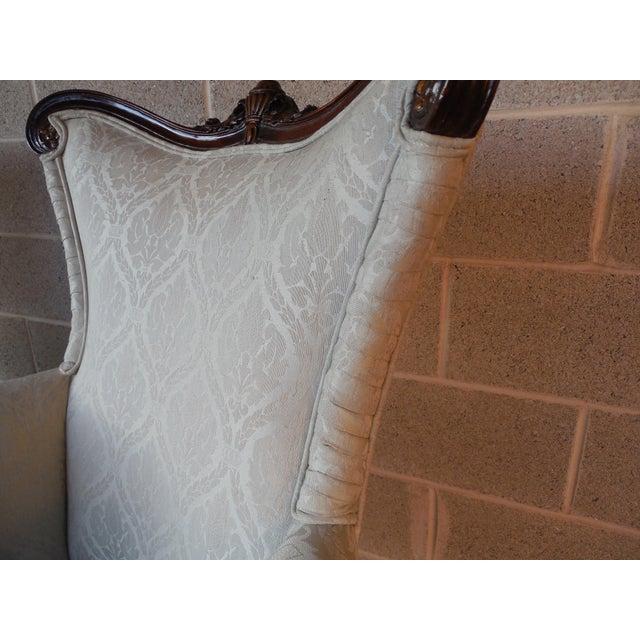 Regency Style Mahogany Frame Bergeres - A Pair - Image 7 of 11