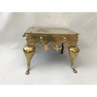 19th CenturyVintage English Brass Fireplace Footman Preview