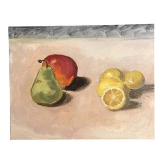 Original Contemporary Still Life Painting Fruit For Sale