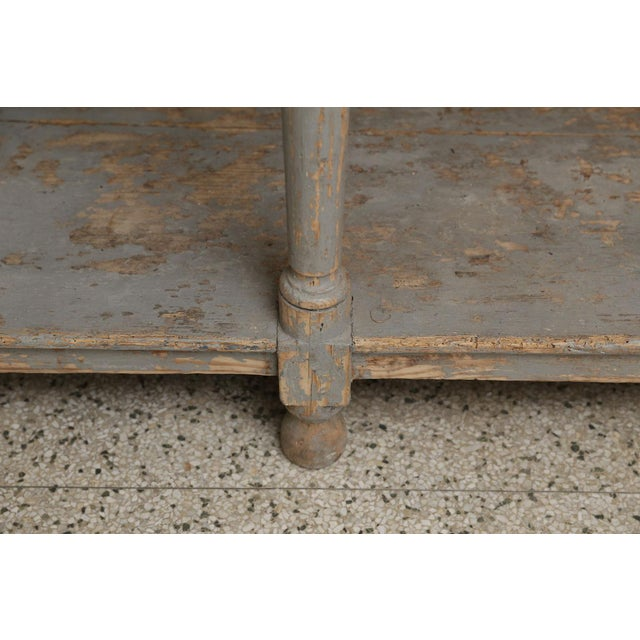 French Massive French Drapers Table For Sale - Image 3 of 11