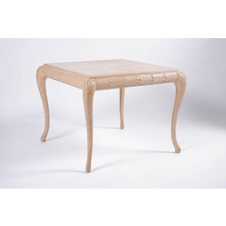 Exquisite Regency Style Carved Wood Table Preview