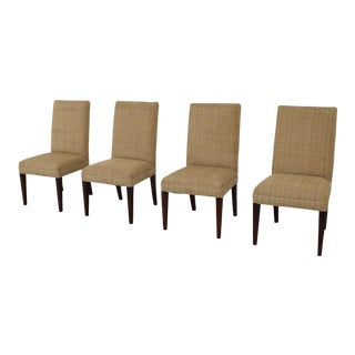 Hickory White American Home Parsons Dining Chairs- Set of 4 For Sale