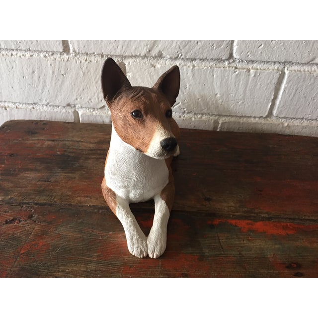 Basenji Dog Statue - Image 6 of 10
