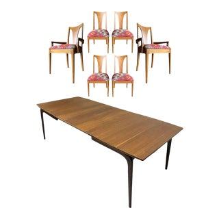 Midcentury Modern Lane Alta Vista & Brasilia Dining Set, 7 Pieces For Sale
