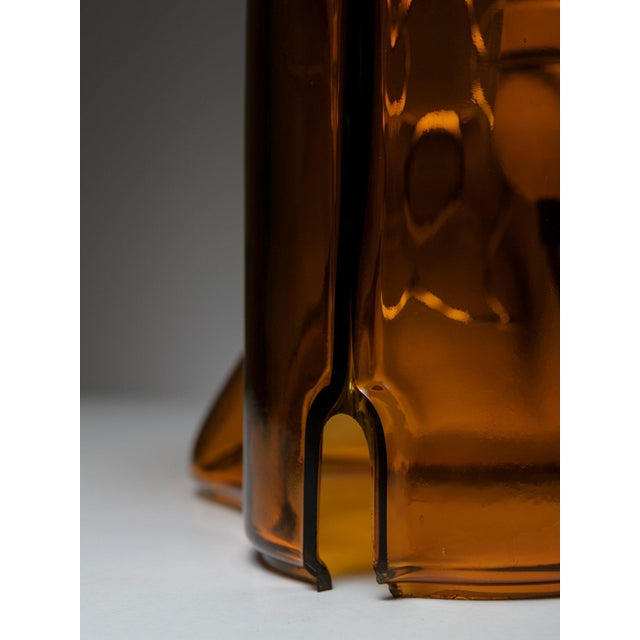 """Glass """"Medusa"""" Table Lamp by Umberto Riva for VeArt For Sale - Image 7 of 9"""