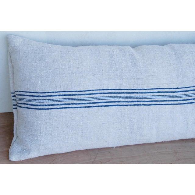 Long French Homespun Body Pillow - Image 4 of 8