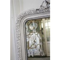 Louis Phillipe Style Mirror With Cherubs For Sale - Image 5 of 6