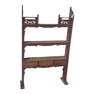 19th Century Chinese Narrow Shelf For Sale