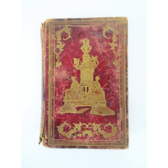 Antique Leather Bound Shakspeare Book For Sale - Image 10 of 10