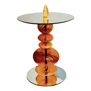 Abacus Monarch Accent Table For Sale