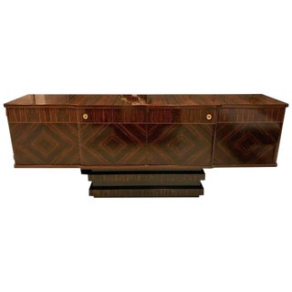 French Art Deco Macassar Ebony Sideboard or Buffet For Sale
