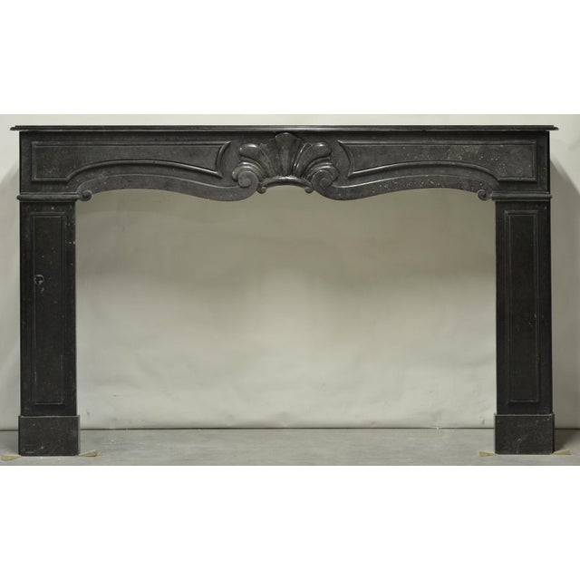Louis XIV Large 18th Century Dutch Fireplace Mantel For Sale - Image 3 of 7