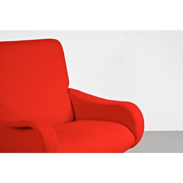 "First Edition ""Lady"" Easy Chair by Marco Zanuso for Arflex, Italy, circa 1950 - Image 7 of 9"