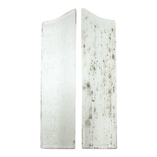 Antique Mirror Panels - a Pair